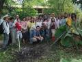 Permaculture Design Course participants